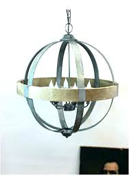 round wood chandelier wood and metal orb chandelier wood and metal chandelier orb wood metal orb