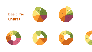 Basic Pie Charts Line Chart Template For Word Chart