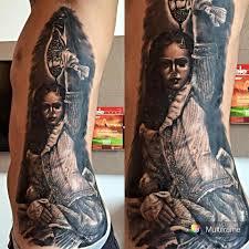 Donna Vittoriana In Bn New Skin Tattoo