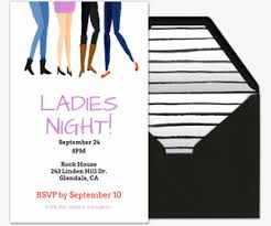 Game Night Invitation Template Free Girls Night Online Invitations Evite