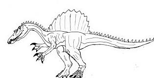Small Picture Spinosaurus Coloring Pages GetColoringPagescom