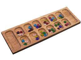 Wooden Game With Marbles Amazon Mancala Toys Games 5