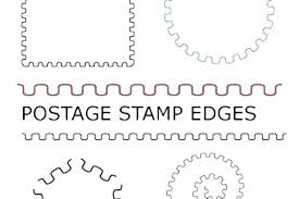 Stamps Template Postage Template Metabots Co