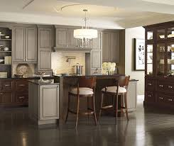 Kitchen with Cherry Cabinets MasterBrand