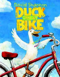 ilrated david shannon clic picture book duck on a bike caldecott medal author read kids books original english books in books from office