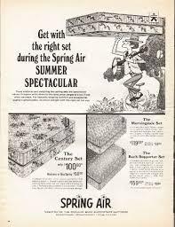 mattress ad. 1966 spring air mattress ad \