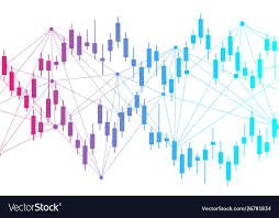 Stock Market Or Forex Trading Graph Chart In