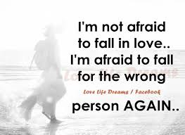 Scared To Fall In Love Quotes Cool Scared Of Falling In Love Quotes WeNeedFun