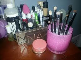 lid mugeek vidalondon made this make up brush holder out of a clear gl cup some