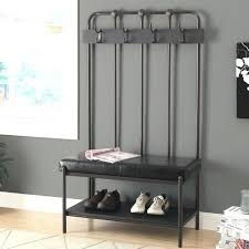 Mudroom Bench With Coat Rack Bench For Foyer Image Of Wood Shoe Storage Bench Entryway Mudroom 72