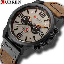 CURREN <b>Mens Watch Top</b> Luxury Brand Waterproof Sport Wrist ...