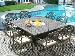 4 person outdoor dining set square outdoor patio dining set for 8 person with 8 person