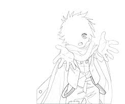 Emo Coloring Pages Anime Boy Amusing To Print Girl Printable