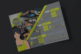 Gym Brochure Templates Inspirational Fitness Brochure Template 24 Gym Flyer Designs 24