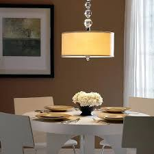 dining light downtown drum pendant dining light height from floor