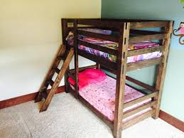diy twin bunk beds. Fine Twin These Bunk Beds Are Unique Because They Easy To Build And Can Be  Assembled Disassembled Easily Ladder Is Integrated Into The Design In Diy Twin Bunk Beds A