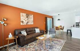 living room color schemes with brown