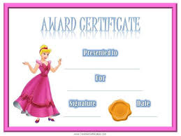 certificates of completion for kids certificates for kids free and customizable instant download