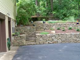 Small Picture Retaining Wall Design Installation Grandview Landscape Design