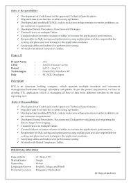 Oracle Pl Sql Developer Resume Sample Download Our Of Ideas Example Simple Sql Developer Resume