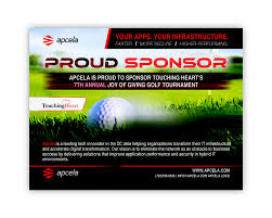 Entry #39 By Pixelmanager For Design Sponsor Ad For Golf Tournament ...