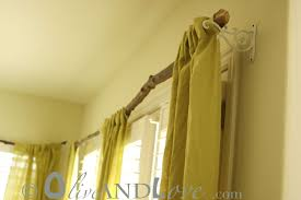 Diy Curtain Rods Five Creative Curtain Projects From The Diy Files The Inspired Room