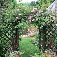 Small Picture 67 best Garden Arches images on Pinterest Garden entrance