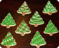 Sugar Cookie Tree Designs Christmas Tree Cookies Blesque
