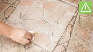 method 2 removing spots from stone tile