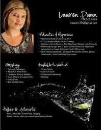 Bartender Resume Sample Resume Examples Pinterest