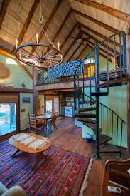 This is a 336 sq. ft. renovated Tiny Barn Cabin. It's called the