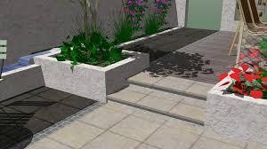 Small Picture Minimalist white garden design Rogerstone GardensCardiff Garden