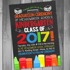 Preschool Graduation Announcements 9 Preschool Graduation Invitation Template Free