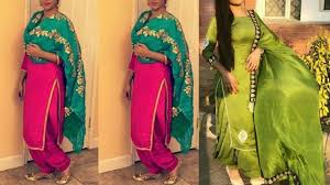 Punjabi Salwar Kameez Designs 2018 Latest Punjabi Suit Designs Patiala Salwar Suit Design