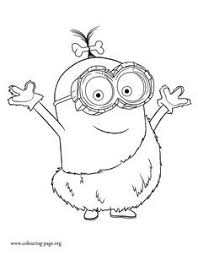 Inspirational Minion Movie 2015 Coloring Pages