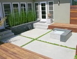 Concrete Patio Pictures Gallery Landscaping Network