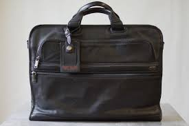 tumi men laptop bag briefcase 96111d4 slim large screen leather portfolio