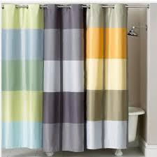 martha stewart encore stripe shower curtain blue