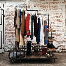 Do It Yourself Coat Rack Do It Yourself Coat Hanger Industrial Style Pipe Hangers Coat Rack 90