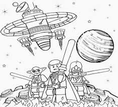 Small Picture Lego Star Wars Coloring Pages coloringsuitecom