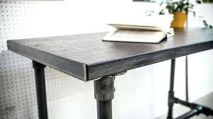 desks industrial pipe desk small table legs
