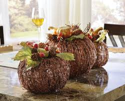 ... Magnificent Dining Table Decoration With Fall Table Centerpiece Decor :  Handsome Dining Room Decoration Using Decorative ...