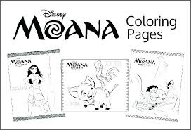Moana Coloring Pages Pdf Free Printable For Kids 123bakingclub