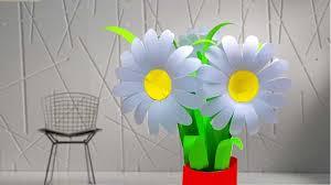 Daisy Paper Flower Daisy Paper Flower Tutorial 2019 Linas Craft Club