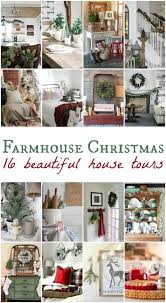 farmhouse christmas tour the design twins diy home decor
