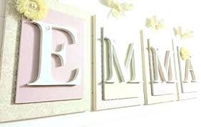 wooden wall letters for nursery wall letters decorative wood letter wall decor for well nursery wall