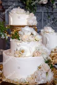 Wedding Cake By Claire Ptak Londonbased Bakery Editorial Stock Photo