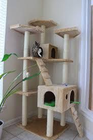 Diy cat playhouse Plans Amazoncom Bestpet Cat Tree Pet House Condo Activity 73inch Beige Pet Supplies Pinterest Amazoncom Bestpet Cat Tree Pet House Condo Activity 73inch