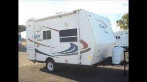 Small Picture 2007 Coachmen Capri Mini Micro Used Trailer Arizona RV