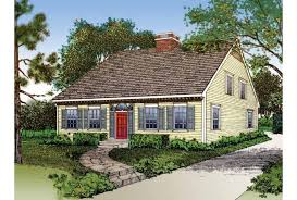 Home Plan HOMEPW11648  1526 Square Foot 3 Bedroom 2 Bathroom  Cape Cod Home Plans